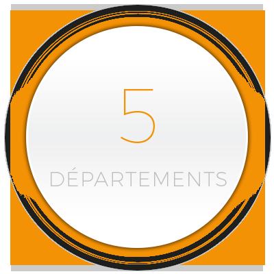 5 départements - Pavillons Parot