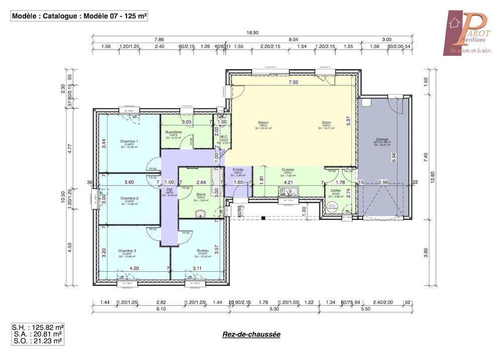 maison spacieuse et fonctionnelle cellier attenant la cuisine. Black Bedroom Furniture Sets. Home Design Ideas