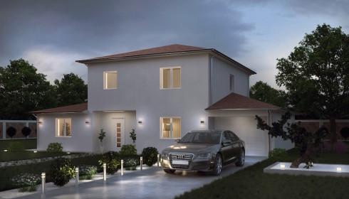 Plans et mod les de maisons traditionnelles for Recherche maison a construire