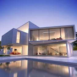 Maison contemporain avec piscine - Pavillons Parot