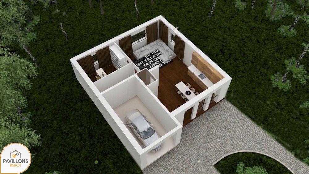 Primae tage l 39 espace petit prix for Modele maison 3d gratuit